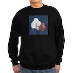Poodle Pair Sweatshirt (dark)