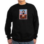 Bulldog Totem Pole Sweatshirt (dark)