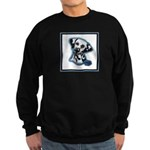 Dalmatian Head Study Sweatshirt (dark)