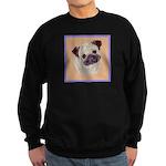 Typical Chinese Pug Sweatshirt (dark)