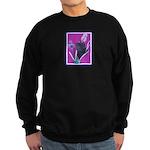 Black Chinese Pug Sweatshirt (dark)