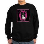 Border Collie Design Sweatshirt (dark)