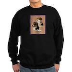 Australian Shepherd Pair Sweatshirt (dark)