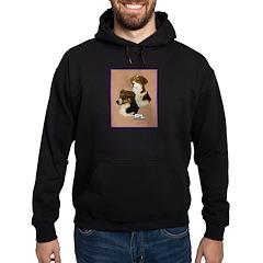 Australian Shepherd Pair Hoodie