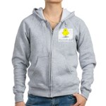 Mom's Little Chick Women's Zip Hoodie