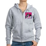 GSP Puppies Rule Women's Zip Hoodie