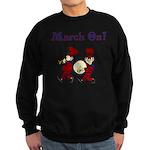 March On Sweatshirt (dark)