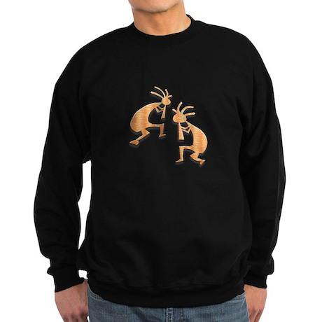 Two Kokopelli #71 Sweatshirt (dark)