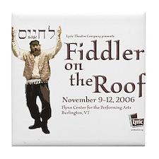 Lyric Fiddler '06 Tile Coaster
