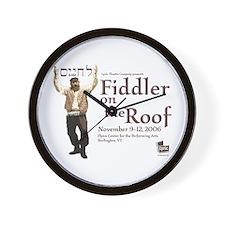 Lyric Fiddler '06 Wall Clock