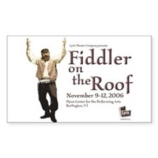 Lyric Fiddler '06 Rectangle Decal