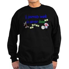 A PARENTS WORK-VOLLEYBALL Sweatshirt (dark)