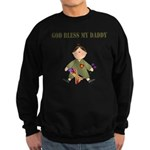 God Bless My Daddy Sweatshirt (dark)