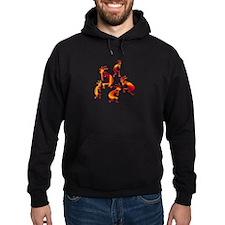 Red Hot Kokopelli Hoodie
