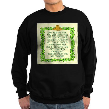 Irish Marriage Blessing Sweatshirt (dark)