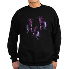 Purple & Blue Kokopelli Sweatshirt