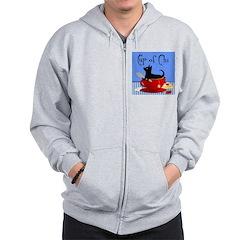 Scott Designs Zip Hoodie