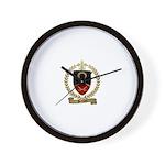 PETITPAS Family Crest Wall Clock