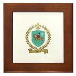 PERROT Family Crest Framed Tile