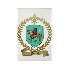 PERROT Family Crest Rectangle Magnet
