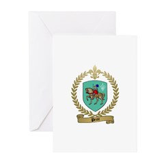 PEROT Family Crest Greeting Cards (Pk of 10)