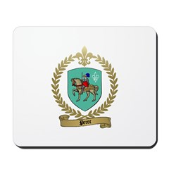 PEROT Family Crest Mousepad