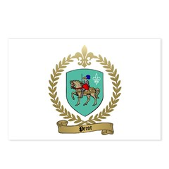 PEROT Family Crest Postcards (Package of 8)