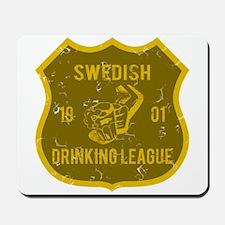 Swedish Drinking League Mousepad