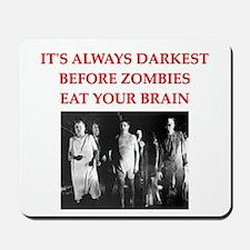 zombie joke Mousepad