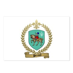 PERRAULT Family Crest Postcards (Package of 8)