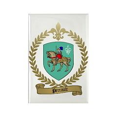 PERRAULT Family Crest Rectangle Magnet