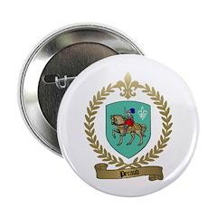 PERAUD Family Crest Button