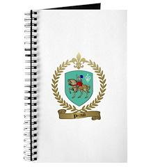 PERAUD Family Crest Journal