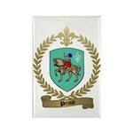 PERAUD Family Crest Rectangle Magnet