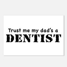 Trust Me My dad's a Dentist Postcards (Package of