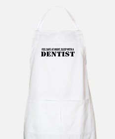 Feel Safe at Night Sleep with a Dentist BBQ Apron