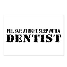 Feel Safe at Night Sleep with a Dentist Postcards