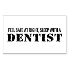 Feel Safe at Night Sleep with a Dentist Decal