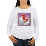 Delaware Chickens Women's Long Sleeve T-Shirt