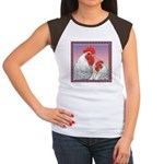Delaware Chickens Women's Cap Sleeve T-Shirt