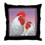 Delaware Chickens Throw Pillow