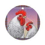 Delaware Chickens Ornament (Round)