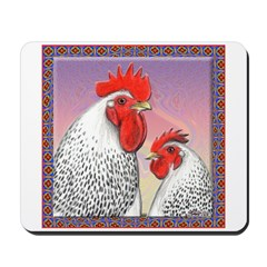 Delaware Chickens Mousepad