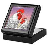 Delaware Chickens Keepsake Box