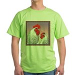 Delaware Chickens Green T-Shirt
