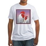 Delaware Chickens Fitted T-Shirt