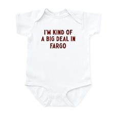 Big Deal in Fargo Infant Bodysuit