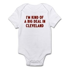 Big Deal in Cleveland Infant Bodysuit
