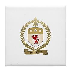 PETIT PRINCE Family Crest Tile Coaster