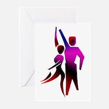 Latin Dancer #2 Greeting Cards (Pk of 10)
